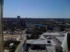 The view from my room at the Hilton in Austin #SXSW