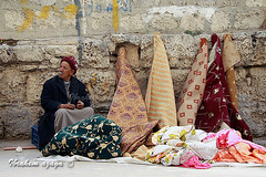 Seller (Azaga ) Tags: poverty life camera city desert market business veteran ibrahim libya tripoli slave trader  the     sabha            aezagp