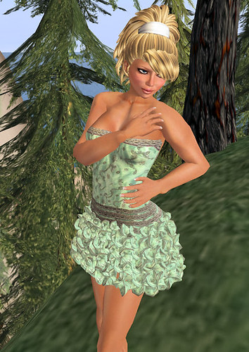 Prism Frills in Green RFL 2010 gift