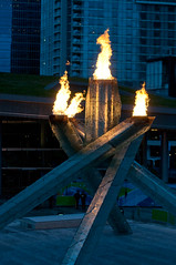 DSC_5079 (the PhotoPhreak) Tags: winter vancouver whistler fire symbol flame olympic cauldron 2010 paralympic