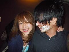 壽星塗蛋糕
