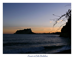 Sunset at Cala Baladrar (Maisse) Tags: sunset sea backlight contraluz atardecer mar contrallum postadesol calp capvespre benissa penyaldifach calabaladrar