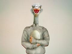 Sr. Truz (EduardoEquis) Tags: bird head egg ostrich ave cabeza avestruz huevo protect pjaro proteger