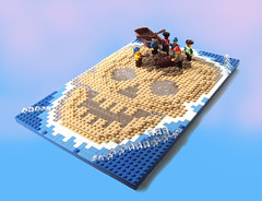 Treasure on the Mind - Main (wunztwice) Tags: island skull treasure lego pirate treasurehunt moc skullisland piratelego legomoc foitsop legoisland forbiddencovecom forbiddencove legopiratemoc piratemoc jollyrogercontest legotreasure