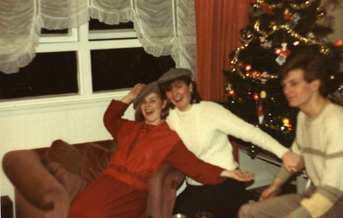 Cranhill Christmas, Stephanie Vickery. Katrina and Paul Curran 1980's