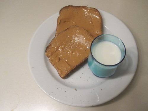 Toast and milk