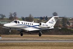 9A-DWA - 525A-0412 - WinAir - Cessna 525A Citation CJ2 Plus - Luton - 100316 - Steven Gray - IMG_8553