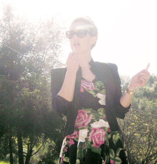 betsey johnson floral dress 13