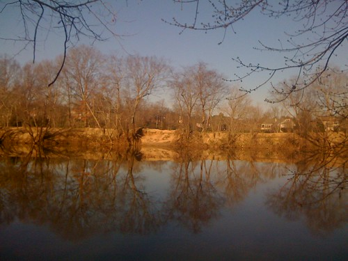 Morning on the Yadkin River