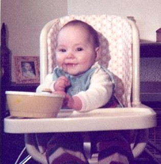 Me as a baby...