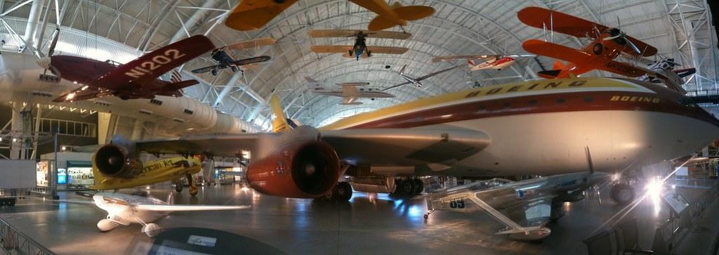 Udvar-Hazy museum