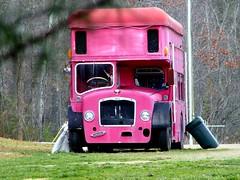 Double Decker (NC Mountain Man) Tags: antique bus doubledecker vehicle ncmountainman kodak z1015 is buncombecounty phixe lowresolutionversion