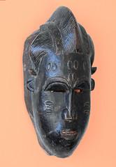 Baoul noir (Jean D) Tags: africa mask masque afrique baule artisanat artcraft baoul