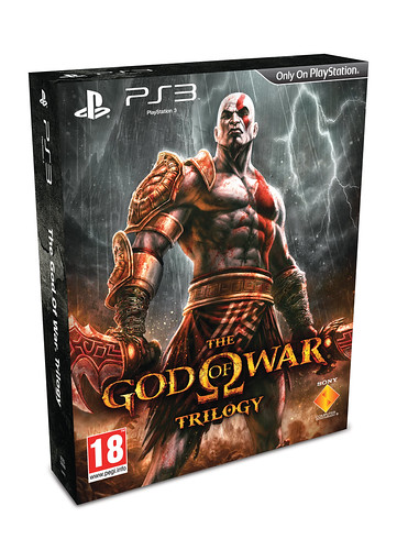 God of War Trilogy Packshot