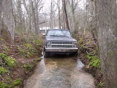 002 (stevenbr549) Tags: road chevrolet water creek truck woods ditch 4x4 off chevy redneck 1985 k10