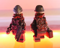 RedDust E.W. (ORRANGE.) Tags: red lego ama dust brickarms
