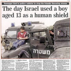 human-shield-gaza