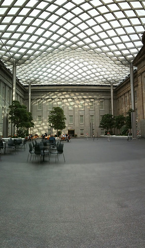 Kogod Courtyard - Taken With An iPhone