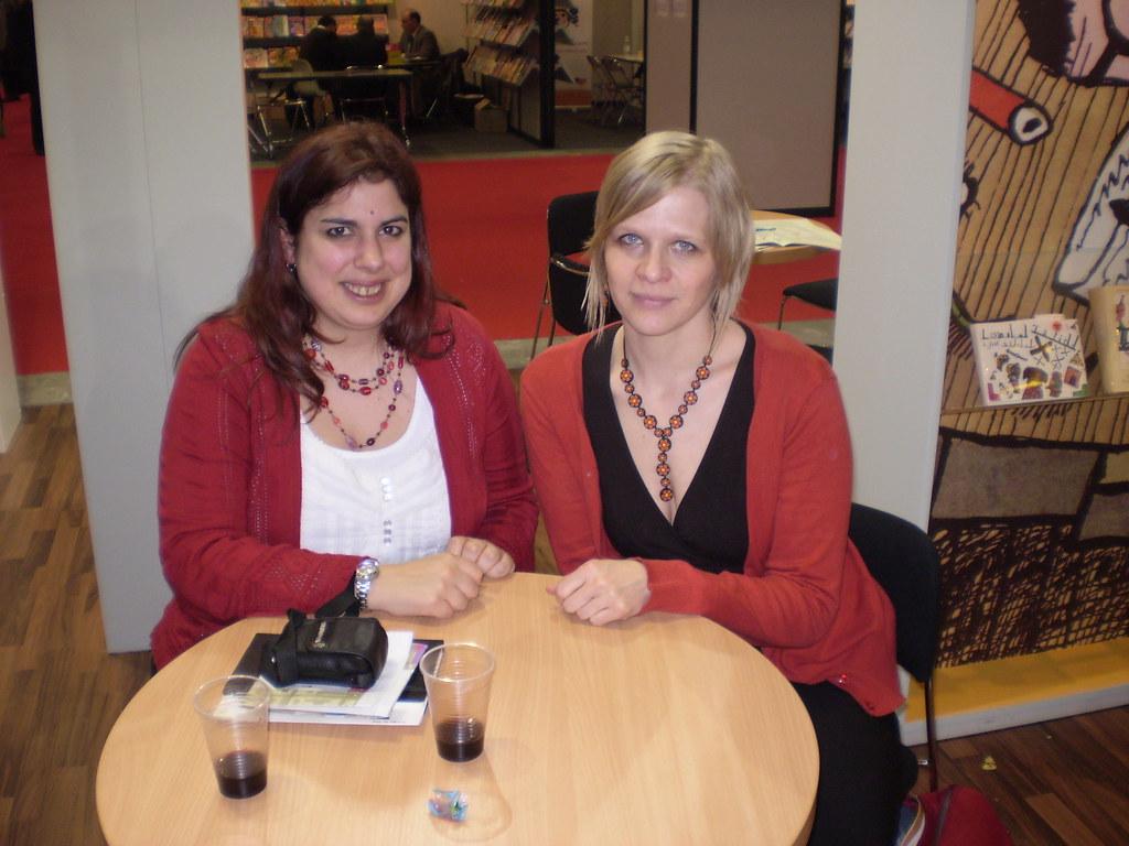 Rhiannon Lassiter and Lucie Šavlíková