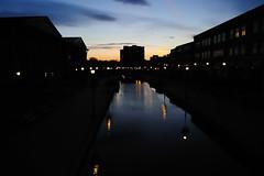 Sunset on Carroll Creek (Golfer Chris) Tags: sunset night nikkor frederick 2470mm 2470 frednet frederickcountymd nikon2470mm d3s nikond3s