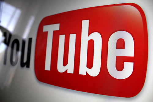 YouTube logo, From FlickrPhotos