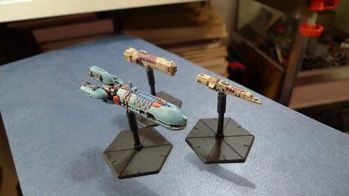 Ninja Magic Jun-ila Ships