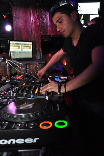 Schlomi Aber at Club glow washington dc