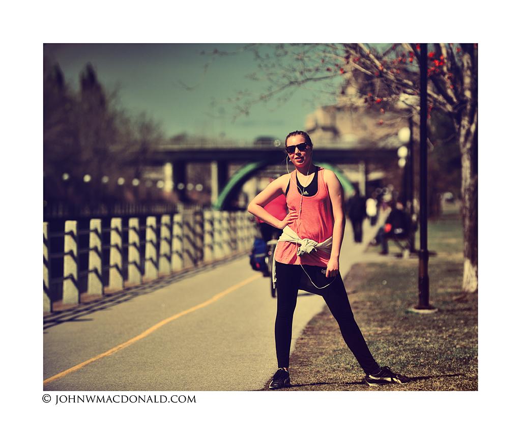 Rideau Canal Runner