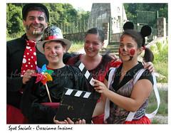 0025 (AlfonsoPapa) Tags: clown csv valledimaddaloni unitalsi cresciamoinsieme alfonsopapa spotsociale assovoce casertaspettacoli