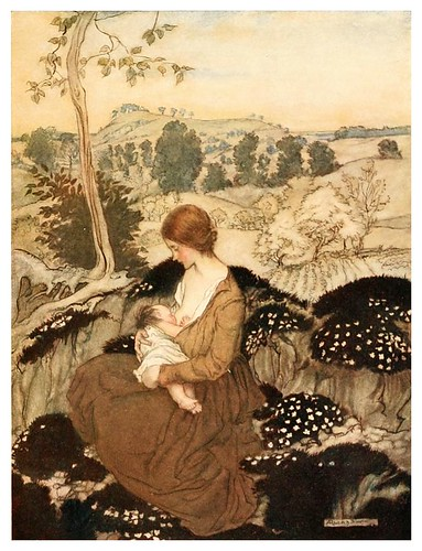 004-The springtide of life, poems of childhood (1918)- Arthur Rackham