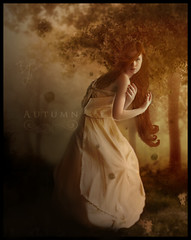 Autumn - Time Leaves . ( Bruno Medina) Tags: autumn flower photomanipulation break estao reconstruo