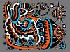 Doodle 1/9/2010 (Daily Doodles) Tags: flowers blue orange abstract art colors modern illustration pen ink painting poster graffiti design sketch artwork 60s colorful folkart outsiderart bright drawing mixedmedia abstractart contemporaryart contemporary vibrant modernart surrealism gray vivid doodle zen 70s surrealist meditation sharpie psychedelic linedrawing surrealart artprint blueart colorfulart dailydoodles surrealistart orangeart zentangle doodledrawing