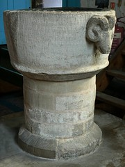 C13 font with rams head