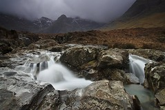FAIRY POOLS (Steve Boote..) Tags: longexposure cloud mist mountains scotland innerhebrides waterfalls westernisles cuillinhills gitzo isleofsky glenbrittle fairypools bruachnafrithe sigma1770 sgurrthuilm sgurranfheadain coirenacreiche leefilters bwfilters samsunggx20 steveboote sgurrnabairnich coireamhadaidh