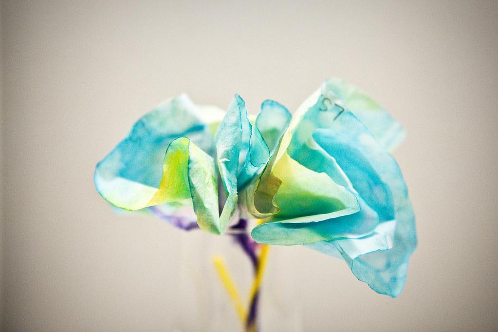 #100 Paper flower