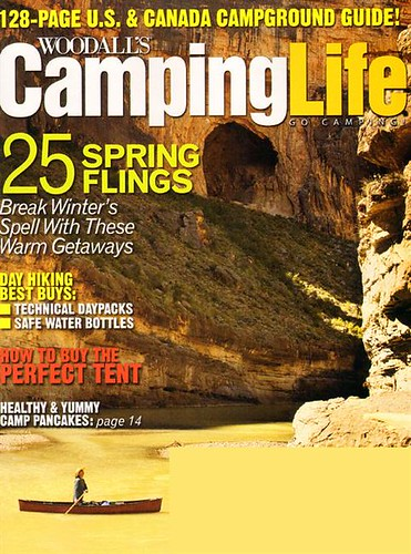 Camping Life - April 2010 Cover