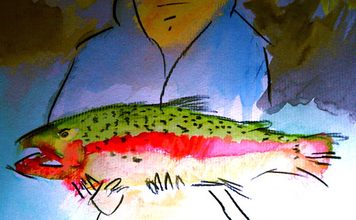 More Crazy Paintings -- HUGE MCKENZIE TROUT
