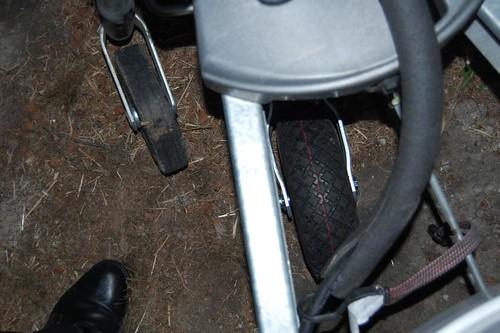 T@B Pneumatic Jockey Wheel