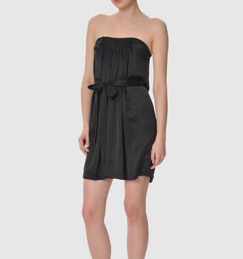 Stella McCartney strapless satin dress