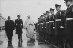 Saud Ibn Abdul Aziz [RF: Saudi Arabia RF];Charles Erwin Wilson (K_Saud) Tags: us dc washington king unitedstates charles saudi arabia wilson secretary defense abdul troops erwin rf aziz ibn reviewing saud timeincown 937347