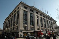 Derry & Toms Department Store W8 (Jamie Barras) Tags: uk england building london shop architecture century shopping thirties 1930s artdeco 20th