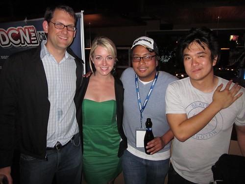 Tara Hunnewell, Peter Ignacio, Celebrity Beer Pong, LA Comedy Shorts