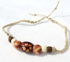 Hemp flower bracelet - Hawaiian Dune