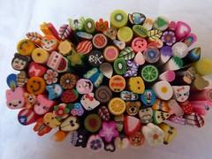 cane clay sticks (FromJapanWithLove Japanese Kawaii Stationery) Tags: cute fruits japan japanese miniature sticks polymerclay clay kawaii deco claycanesticks