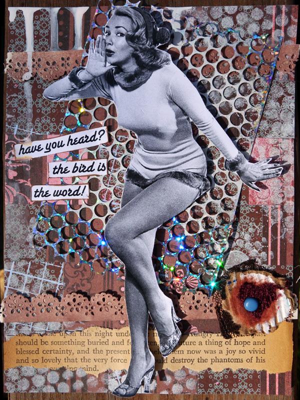 Gauche Postcard