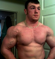 (muscle[spell]bound) Tags: man training power masculine muscle hunk bodybuilding buff strong strength muscleman bodybuilder workout gym macho weight protein weights testosterone bicep steroids tricep culturismo testosteron musculos muskel testos muskelmann culturiste