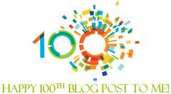 Happy 100th Blog Post