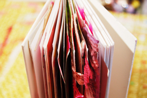 A book where all the pages are just full of yummy pink