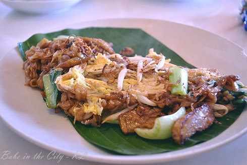 Uncle Chow Kopitiam - Fried Koay Teow (RM6.00)