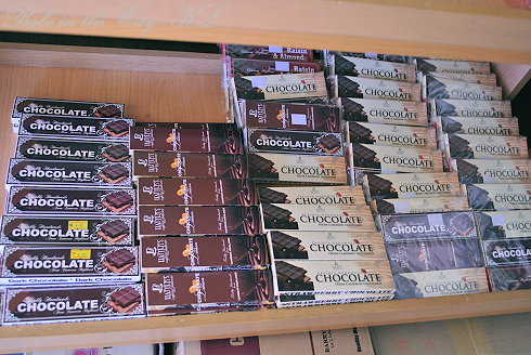 Hatter's Cafe & Bakerie's range of chocolates